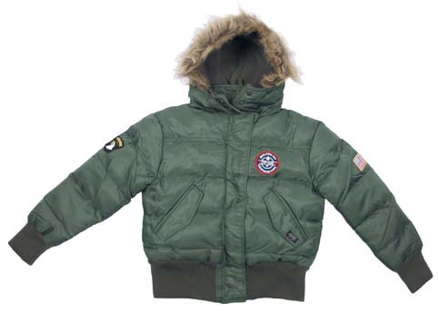 Children pilot jacket N2B with patches