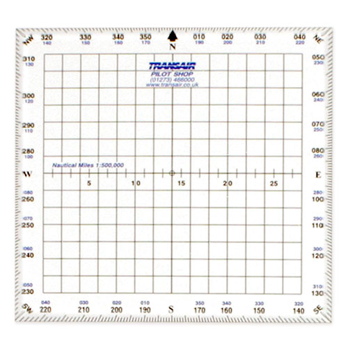 Transair 5 Inch Square Protractor