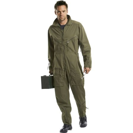 Flight suit BW - green