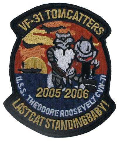 Patches VF-31 TOMMCATTERS