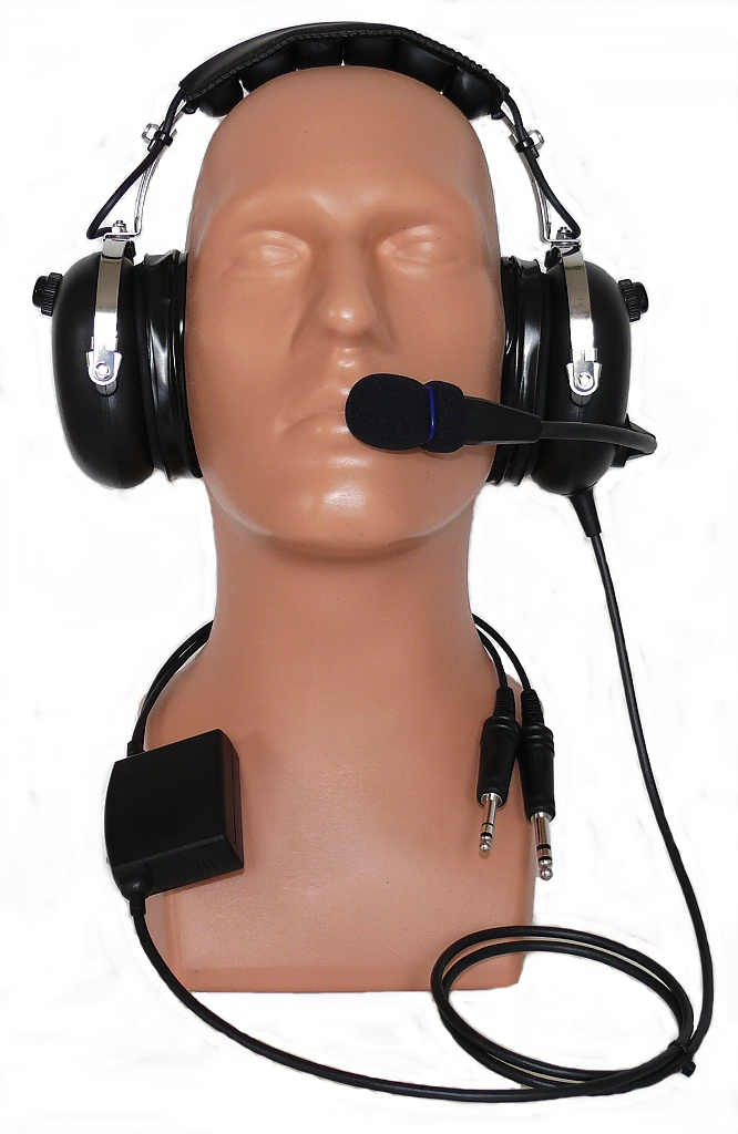 ANR aviation headset PA-301