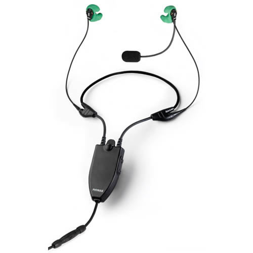 Phonak Freecom 7000 headset Helicopter