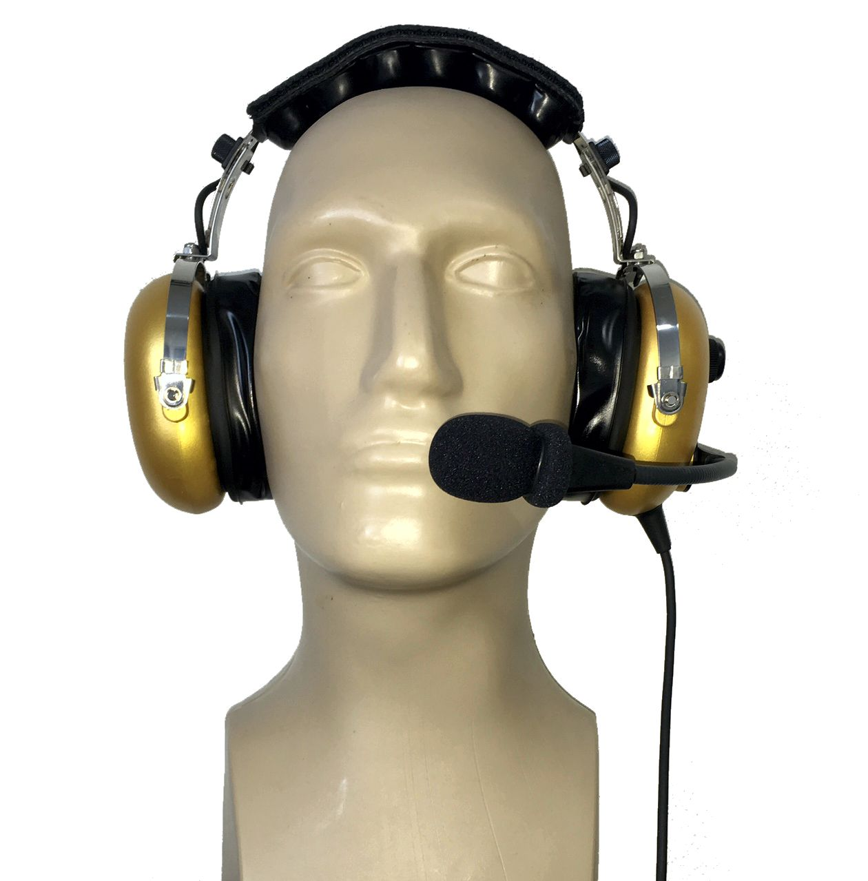 Aviation headset PH-101 Gold