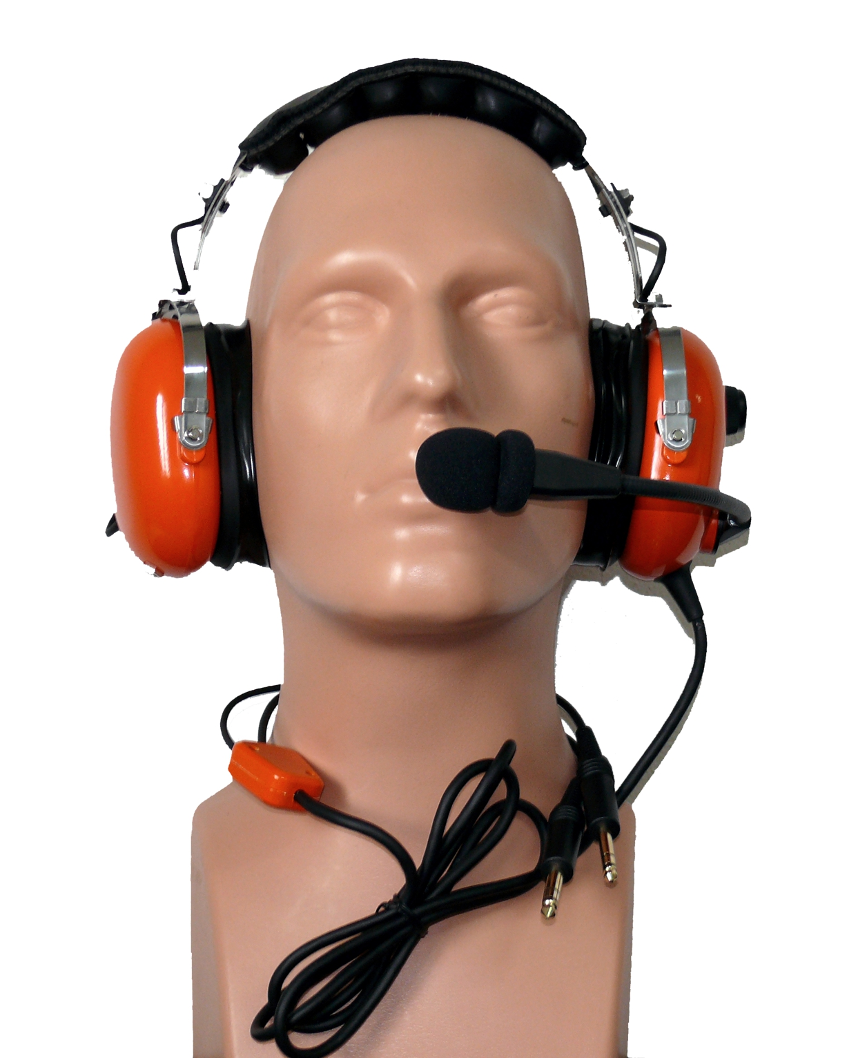 Aviation headset PH-101 Orange