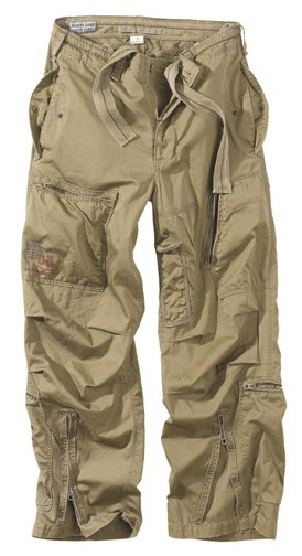 INFANTRY CARGO  trousers - khaki