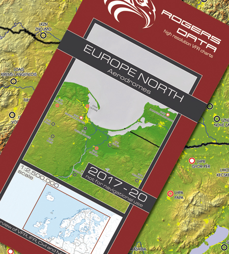 European Aerodromes North – Panorama chart 2.500k 2017-2020