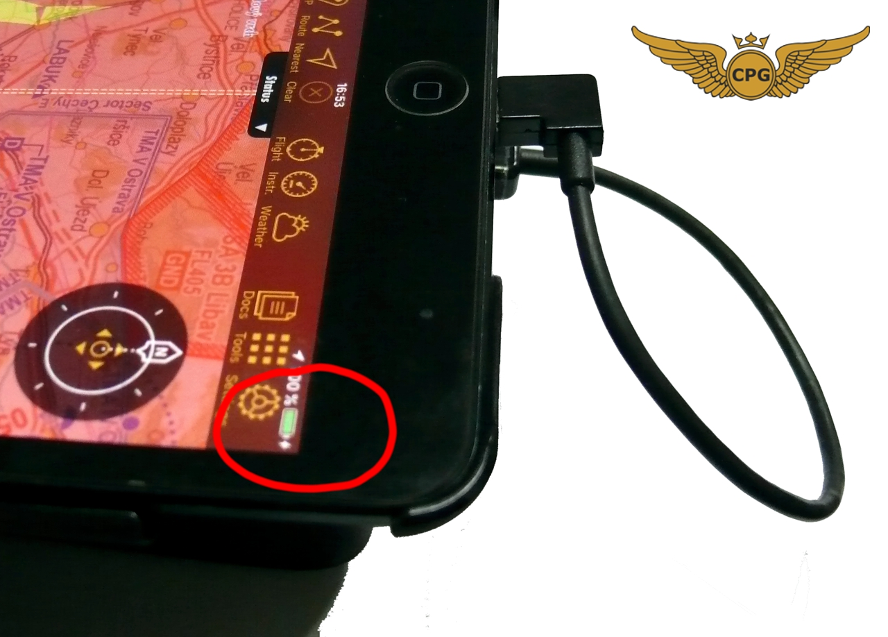 iPad Mini 4//5 aviation Pilot Pen//Stylus flight Kneeboard with POWER BANK