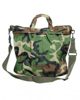 Helmet bag US woodland