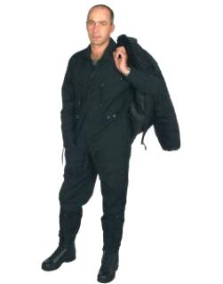 Flight suit BW - black