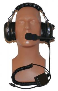 ANR helicopter headset PA-401