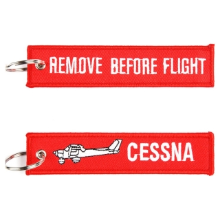 "Keyring ""REMOVE BEFORE FLIGHT"" CESSNA"
