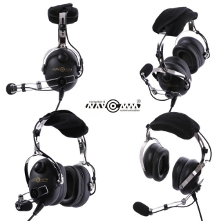 Child's aviation headset NC-50 Black