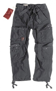 AIRBORNE VINTAGE trousers - black