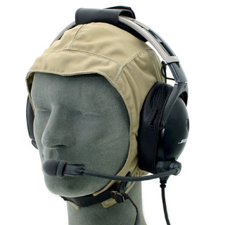 Aviation textile helmet