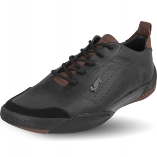 Aviation shoes DAKOTA - Black & Tan